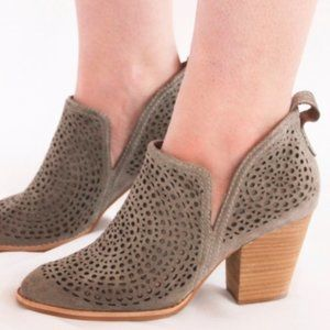 Jeffrey Campbell Rosalee Bootie Taupe